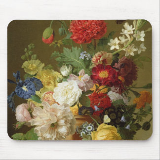 Flower Still Life on a marble ledge, 1800-01 Mouse Pads
