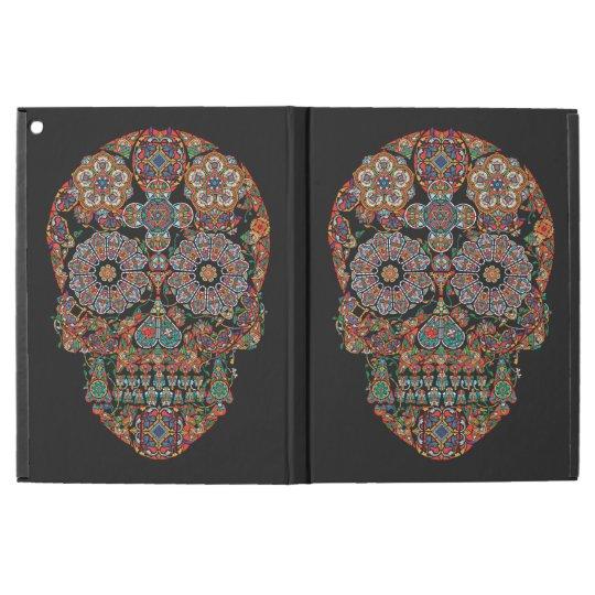 Flower Sugar Skull iPad Pro Case