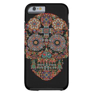 Flower Sugar Skull iPhone 6 Case