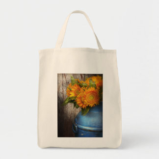 Flower - Sunflower - Country Sunshine Grocery Tote Bag