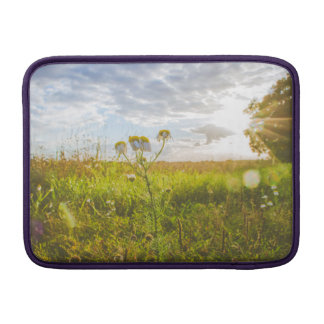 Flower Sunset Happy Sleeve For MacBook Air