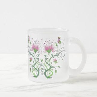 Flower Symmetry - Floral Mug Design