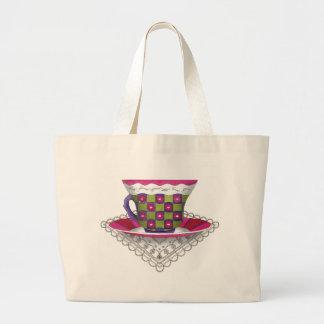 Flower Teacup Bag