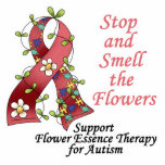 Flower Therapy for Autism Photo Cut Out