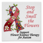 Flower Therapy for Autism Print