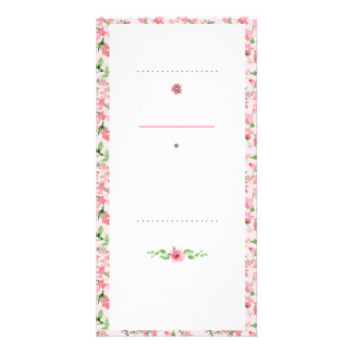 Flower to border card