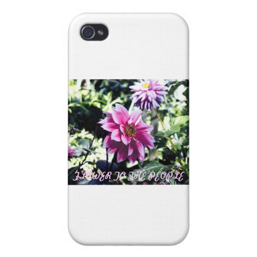 Flower to the People iPhone 4/4S Cases