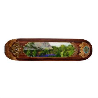 Flower - Town Square Skateboard Deck
