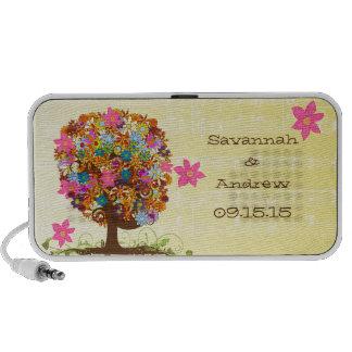 Flower Tree Anniversary iPod Speaker To Go