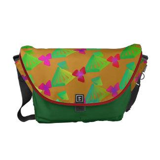 Flower Trellis Pattern Messenger Bag