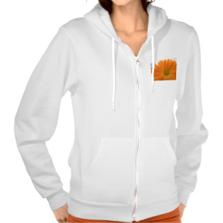 flower hooded pullovers