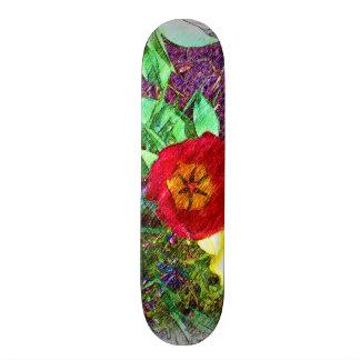 Flower Tulip drawing Skate Deck