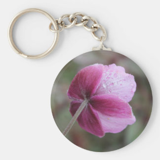 Flower Turned Away Key Ring