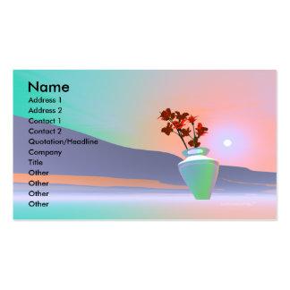 Flower Vase - Business Pack Of Standard Business Cards