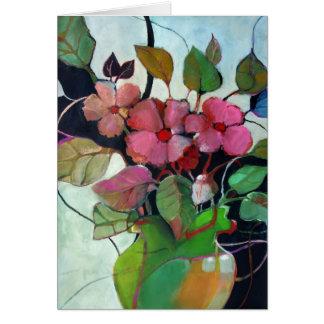 Flower Vase No. 6 • Michelle Abrams - card