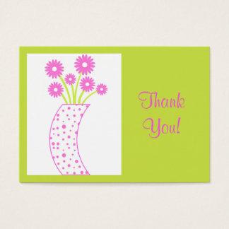 Flower vase Thank You! - Card