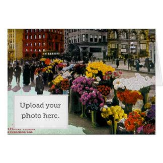 Flower Vendors Greeting Card