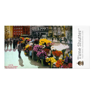 Flower Vendors Picture Card