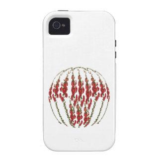 Flower VERCORDIA Show iPhone 4 Cases