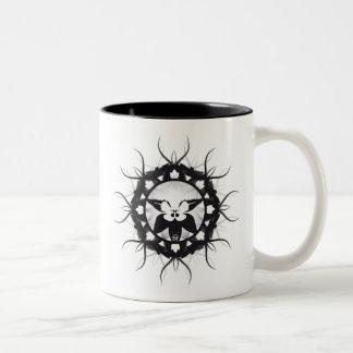 Flower Vines Two-Tone Mug