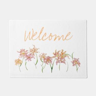 Flower Welcome Mat