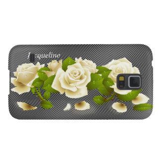 Flower White Roses Samsung Galaxy Nexus Case Galaxy S5 Case