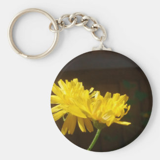 Flower Wildflower - Dandelion Key Ring