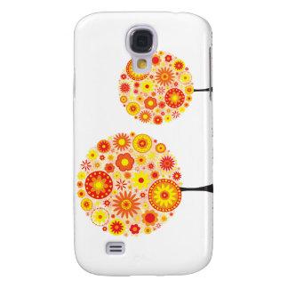 - Flower Wishing Tree Orange Galaxy S4 Case