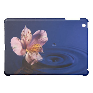 Flower with Drop-03224 Case For The iPad Mini