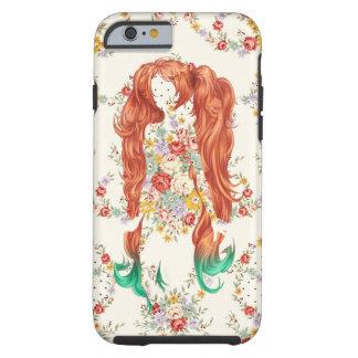 FLOWER WOMAN HAIR TOUGH iPhone 6 CASE