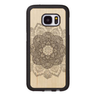 Flower Wood Samsung Galaxy S7 Case