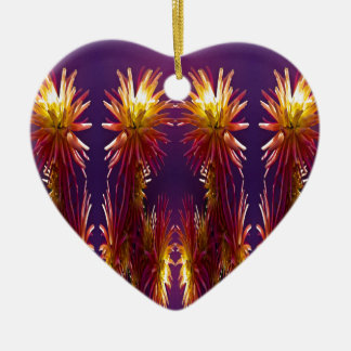 Flower Works Ceramic Heart Decoration