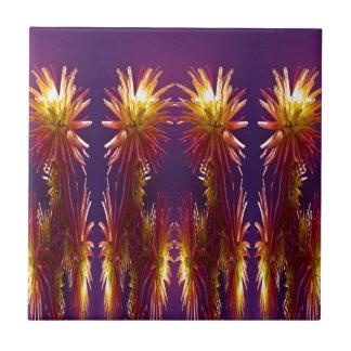 Flower Works Tile
