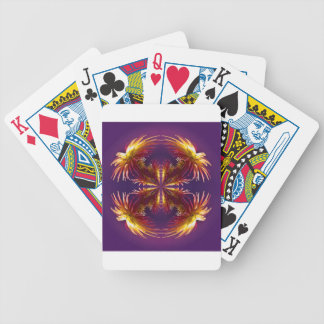 Flower Works Two Bicycle Playing Cards