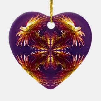 Flower Works Two Christmas Ornament