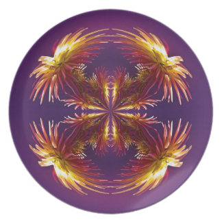 Flower Works Two Plate