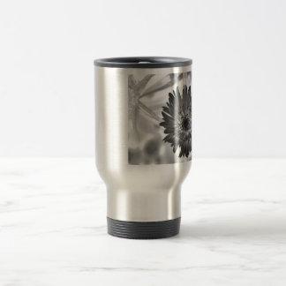 flower xray stainless steel travel mug