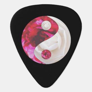 Flower Yin Yang Guitar Picks