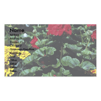 Flowerbed Business Cards