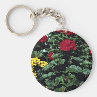 Flowerbed Keychains