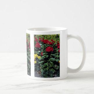 Flowerbed Coffee Mugs