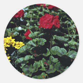 Flowerbed Sticker