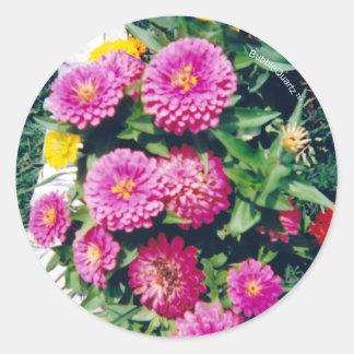 Flowerbed stickers