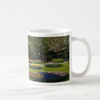 Flowerbeds at Keukenhof, Netherlands Coffee Mug