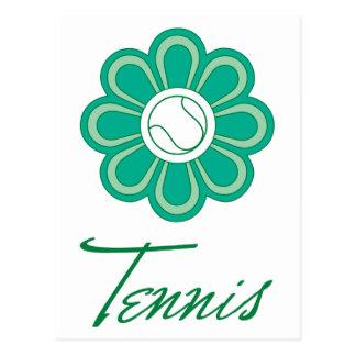 Flowerboom Tennis Post Cards