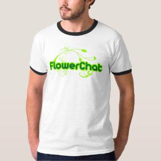 FlowerChat Ringer Shirt