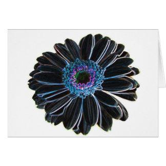 flowerdigiart card