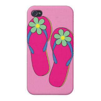 Flowered Flip Flops iPhone Case iPhone 4/4S Covers