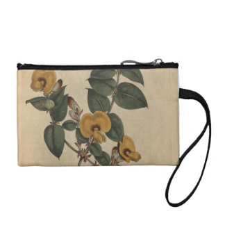 Flowered Pea Change Purse