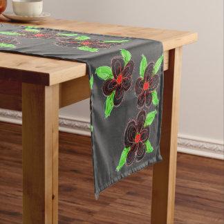 Flowered Table Runner